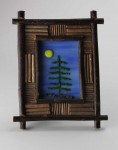 Homage to the Great Northwest No 2, fused glass by Diane C. Taylor